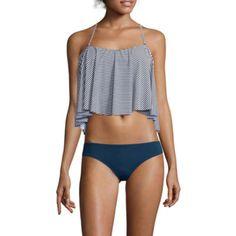 Arizona Tankini Flounce Swim Top, Hipster Swim Bottoms or Swim Cover-Up - Juniors  - JCPenney
