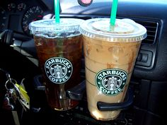 starbucks iced coffee :)