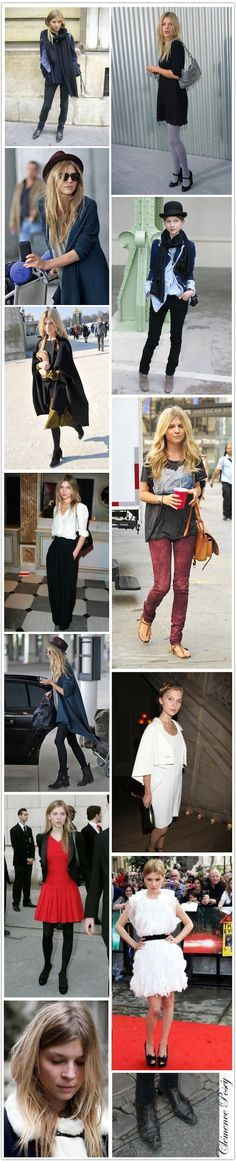 Clemence Poesy - Masculine and feminine, and super cute!