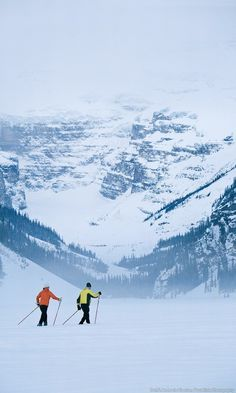 The Banff and Lake Louise area are a winter wonderland where you can enjoy mountain scenery through a number of different activities.  Cross it off your bucket list and enter to a win a 7 night dream vacation.