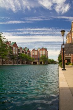 Indiana - Canal Walk in the state capital of Indianapolis. IN became the 19th state on December 11, 1816.