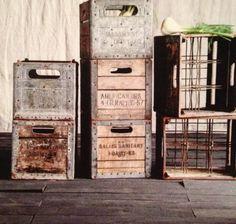 The Magnolia Mom - Joanna Gaines vintage milk crates
