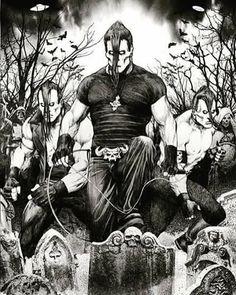 (KILLER artwork from the current issue of Metal Hammer, by Christian Sloan Hall) #riotfest #misfits #themisfits #horrorpunk #danzig #doylewolfgangvonfrankenstein #doyle #jerryonly #fiendclub #punk #punkrock #skatepunk #devilock #horrorbusiness #horrorbiz #longlivethehorror #plan9 #misfitsreunion #originalmisfits