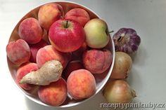 Věřte mi, že broskvové čatní je krásná věc. Vynikající ke grilovanému masu, nebo jen tak na mlsání, ...nebo třeba k paštice. Frozen, Peach, Homemade, Fruit, Food, Home Made, Essen, Peaches, Meals