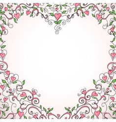 valentine border art