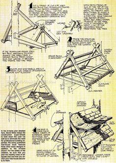 Build Treehouse - Children's Outdoor Plans
