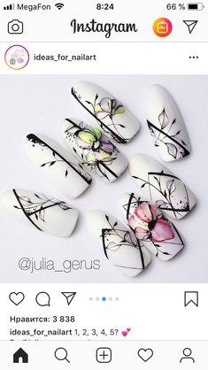 New Ideas for nails christmas black nailart Beautiful Nail Art, Gorgeous Nails, Toe Nail Art, Acrylic Nails, Trendy Nails, Cute Nails, Posh Nails, Nail Drawing, Gothic Nails