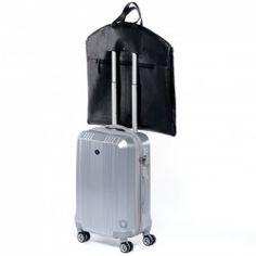 Kleidersack Leder Anzugtasche Ledertasche schwarz Laptop   Business 12ba1e7ac7bfc