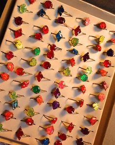 昭和レトロ デッドストック 紙箱入りおもちゃの指輪再入荷しました | ★京都★レトロポップ★ハンドメイド★アネモネ雑貨店