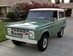 1970 Ford Bronco / 302 4X4