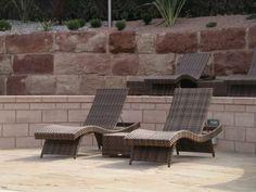 Garden Furniture Centre - Wave Sun Lounger - Prussian Bronze: Amazon.co.uk: Kitchen & Home