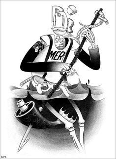 The Fisherman by mcbess.