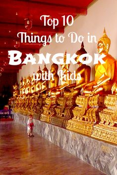 Top Ten Things To Do In Bangkok With Kids - Taking your kids to Thailand? Read through this post on the best 10 things to do in Bangkok with your kids.