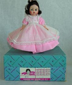 Madame Alexander Vintage 1970s Little Women BETH 8 Inch Doll 412; I had the 'Marmee' doll (but I decided it was Jo; I didn't like the Jo doll!).  But I remember the Beth doll - AND the box!