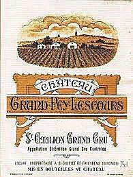 Saint-emilion Grand Cru – Château. Grand Pey Lescours 2010 – Cuvée Prestige – St Emilion, Grand Cru – 75 Cl