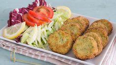 croquettes aux courgettes et feta, recette des croquettes légères à servir avec une petite salade ou en accompagnement de plats de viandes.