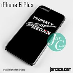 The Walking Dead Property of Negan Z Phone case for iPhone 6 Plus and other iPhone devices