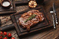 Φανταστική μαρινάδα για μπριζόλες Boneless Ribeye Steak, Beef Flank Steak, Tenderloin Steak, Hamburger Patties, Skirt Steak, Grass Fed Beef, Grain Free, Food And Drink, Meat