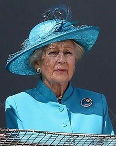 Princess Alexandra of Kent, June 6, 2015 in Rachel Trevor Morgan | Royal Hats