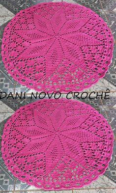 Filet Crochet, Crochet Hats, Doilies, Diy And Crafts, Crochet Patterns, Blanket, Knitting, Floral, Crochet Edgings
