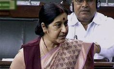 Sushma Swaraj ready for debate on Lalitgate controversy