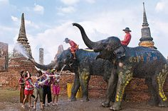 Top 5 Fun Festivals Around the World: Songkran Cannot wait for April! Raves, Songkran Festival, World Festival, Wanderlust, Honeymoon Places, Festivals Around The World, Travel Channel, Grand Tour, Chiang Mai