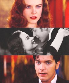"""Love? Above all things, I believe in love..."" - Moulin Rouge I love this story so much forever and ever"