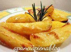 Patate al forno furbe (ricetta semplice) a pancia piena giallo zafferano