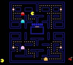 Pac Man: the only video game I was good at!