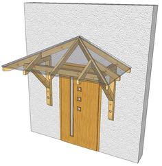 daszki nad drzwi drewniane trzyspadowe - Szukaj w Google
