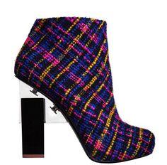 Nicholas Kirkwood. The perfect winter shoe.