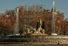 Madrid, Fountain Neptuno.