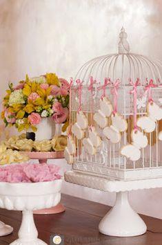 Festa_Meninas_Tema_Borboleta_Mesa_Bolo_Doces_02 Cookies - Butterflies Party
