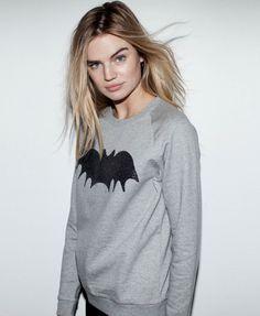CAVIAR BAT LOOSE FIT SWEAT | Zoe Karssen