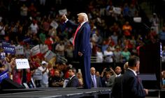 Protesters Ejected From Trump Rally After Holding Up Constitutions  (Good on you, Portland, Maine!)