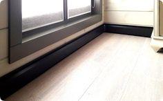 Как сделать теплый водяной плинтус Tile Floor, Windows, Flooring, House, Plumbing, Home, Wood Flooring, Haus, Floor