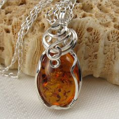 Baltic Amber Jewelry  Amber Necklace  Baltic Amber by StoneNest, $65.00
