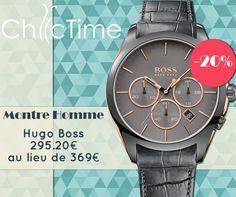 Pour ces soldes d'été, profitez d'une remise de -20% sur cette montre Hugo Boss à 295.20€ au lieu de 369€ !  Voir la montre: https://www.chic-time.fr/montres-homme/85616-montre-hugo-boss-1513366-7613272205276.html