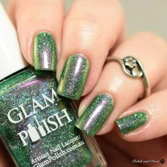 Glam Polish Never Trust the Living