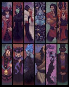"""The Villainous World of Disney"" by *northchavis on deviantART- Maleficent is my all-time favorite villain! Disney Magic, Disney Pixar, Walt Disney, Disney Fan Art, Disney E Dreamworks, Disney Amor, Evil Disney, Disney Diy, Disney Animation"