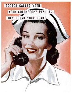 Latter er den beste medisin Retro Humor, Vintage Humor, Vintage Nurse, Retro Funny, Vintage Medical, Vintage Ladies, Funny Shit, The Funny, Funny Stuff
