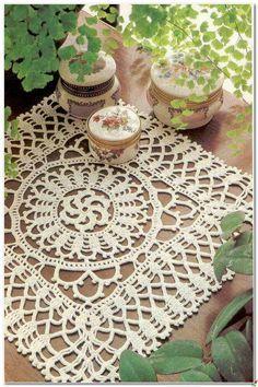 Crochet and arts: crochet square doily º