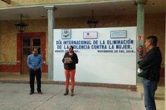 Arroyo Seco, Qro 25 de noviembre del 2016. Este año en el marco de la iniciativa 16 días de activismo...