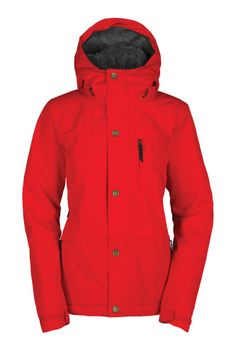 Bonfire Womens Madison Insulated Jacket 2015 buy online A seriously cozy contingent, the Classic Fit 15K/10K Madison Jacket does not mess around when it comes to living up to its soft-to-the-touch look. Mystic Heat Lining Construction keeps you warm while battling the chill of winter by cleverly combining furry fleece, 60gm Poly insulation, the breathability of taffeta and the performance of Shadow Weave fabric.