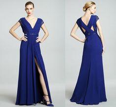 vestido de madrinha de casamento de manhã na cor azul - Pesquisa Google