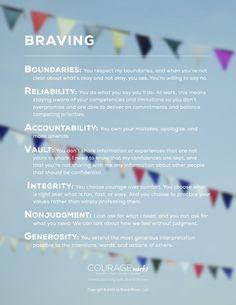 BRAVING - The Anatomy of Trust - Brené Brown
