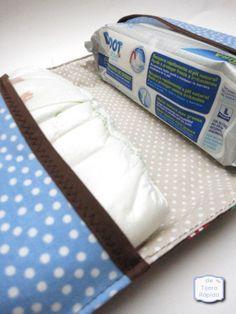 De Tijera Rapida: Funda pañales y toallitas