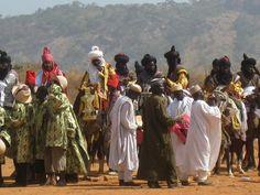 Medieval Kanem-Bornu Islamic Caliphate of the Sahel.Northern Nigeria.Hausa Durban FESTIVAL hAWAN sALLAH.