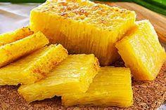 Indonesian Desserts, Asian Desserts, Indonesian Food, Indonesian Recipes, Honeycomb Cake, Resep Cake, Medan, Pineapple, Oven