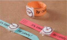 Valen-timepiece:  Instructions for making a cute Valentine's Day card using Lifesavers.